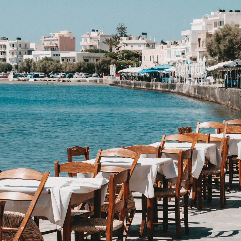 Promenade in Ierapetra, Kreta