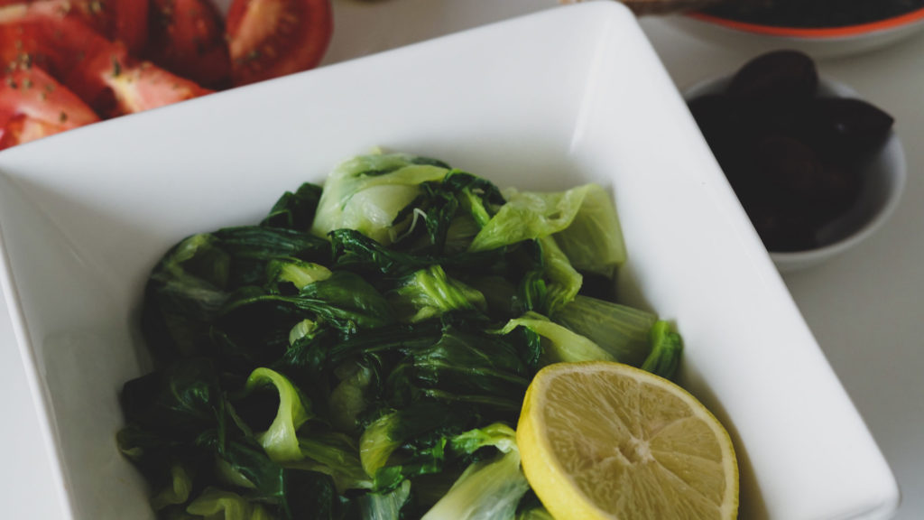 Chorta Salat selbst gemacht