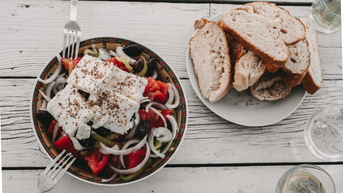 Rezept für einen klassischen griechischen Bauernsalat