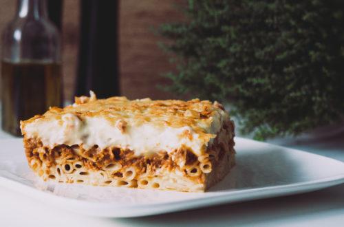 Rezept für vegetarisches Pastizio