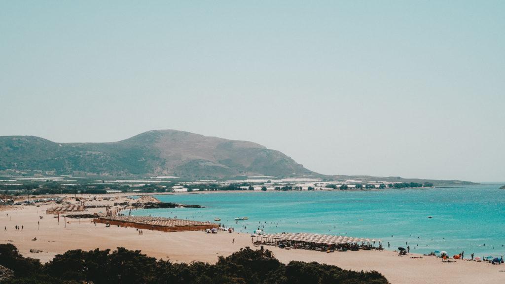 Der Big Beach in Falassarna