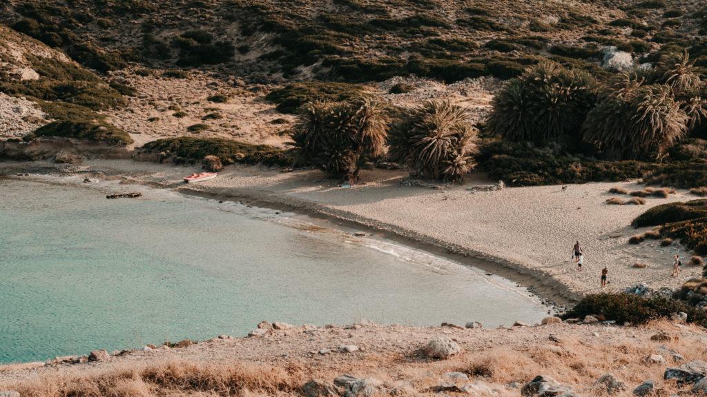 Der paradiesische Strand von Itanos, Ostkreta