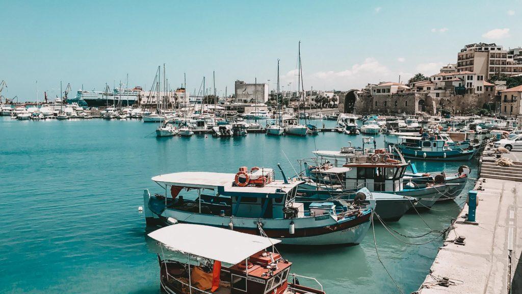 Der alte Hafen von Heraklion
