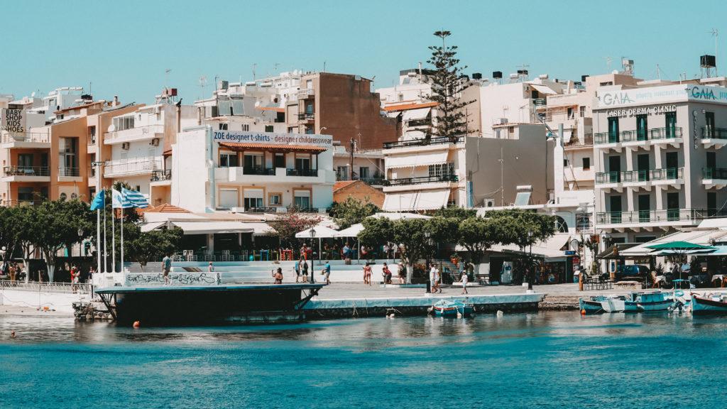 Das Zentrum von Agios Nikolaos