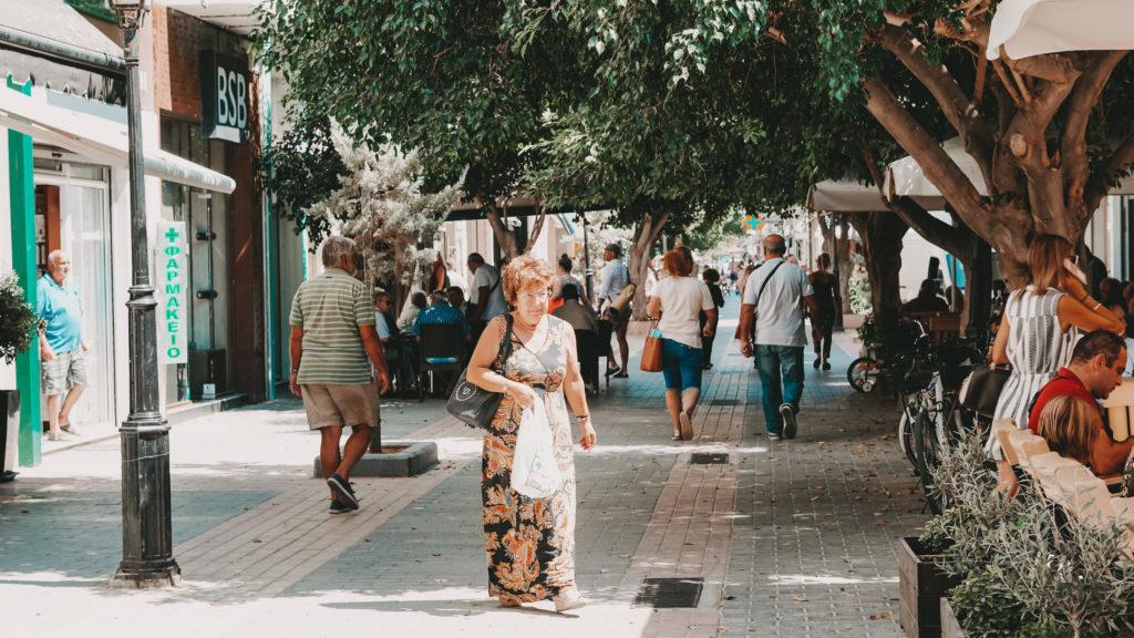 Die Innenstadt von Ierapetra, Kreta