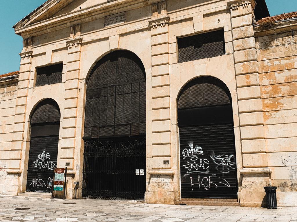 die Markthalle in Chania ist geschlossen