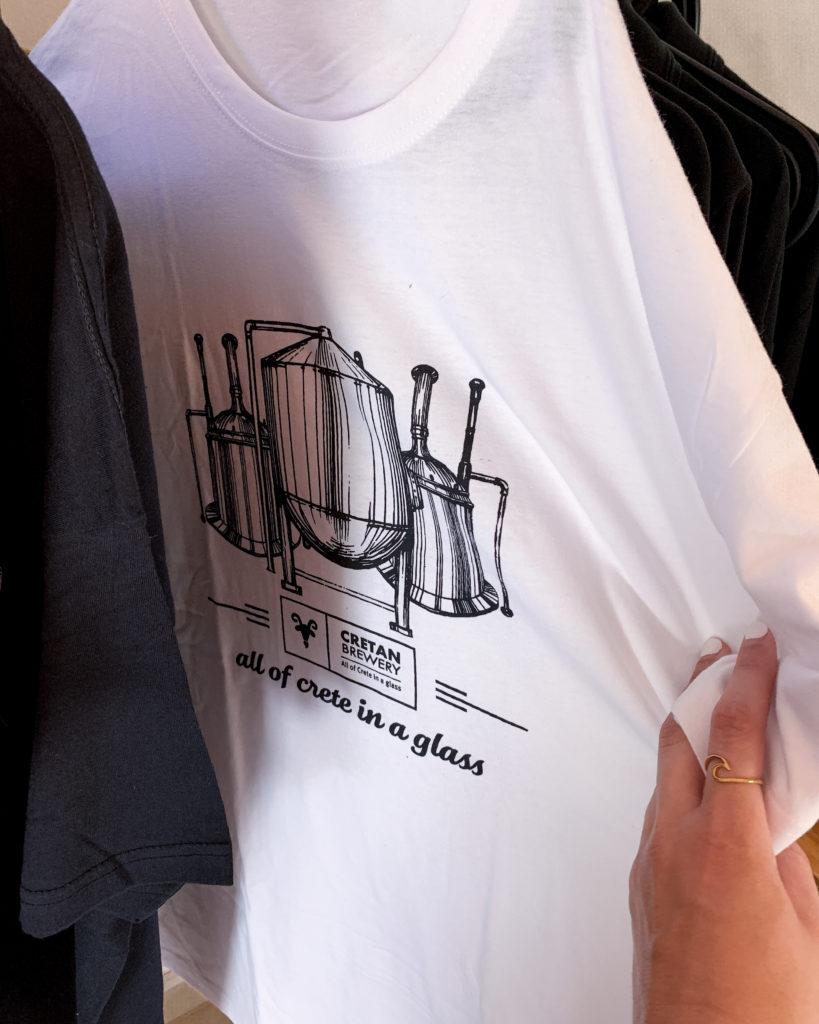 Merchandise T-Shirts der Brauerei Charma in Zounkai