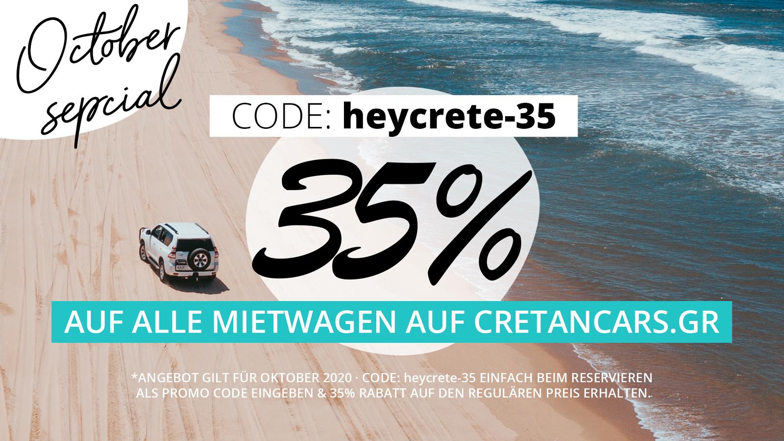 Rabattcode für kreta