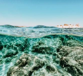 Unterwasserbild auf Kreta