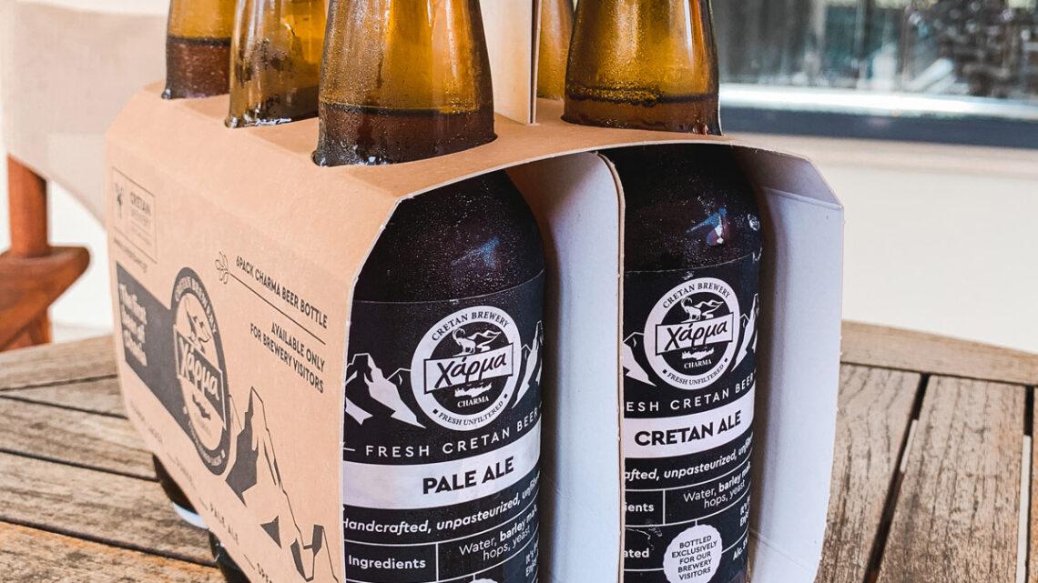 Bierflaschen im 6er Traeger