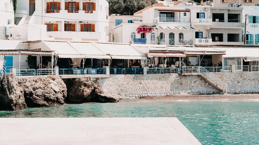 Der Hafen von Sfakia